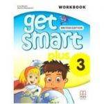 Get Smart Plus 3 Workbook + CD-ROM British Edition ( editura: MM Publications, autori: H. Q. Mitchell, Marileni Malkogianni, ISBN 9786180522266)