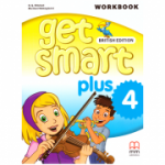 Get Smart Plus 4 Workbook + CD-ROM British Edition ( editura: MM Publications, autori: H. Q. Mitchell, Marileni Malkogianni, ISBN 978-618-05-2162-7)