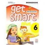 Get Smart Plus 6 Workbook + CD-ROM British Edition ( editura: MM Publications, autori: H. Q. Mitchell, Marileni Malkogianni, ISBN 978-618-05-2231-0)