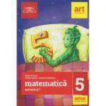 Clubul Matematicienilor clasa a 5 a semestrul 1 ( Editura: Art Grup Educational, Autor(i): Marius Perianu, Catalin Stanica, Stefan Smarandoiu ISBN 9786068948416 )