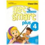 Get Smart Plus 4 British Version Class CDs ( editura: MM Publications, autori: H. Q. Mitchell, Marileni Malkogianni ISBN 978-618-05-2252-5)
