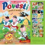 Povesti (Apasa si asculta). Carte cu sunete vol 1 ( Editura: Dorinta ISBN 9789975143240)