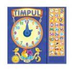 Timpul. Carte cu sunete ( Editura: Dorinta Autor: Inesa Tautu ISBN 9789975140737)