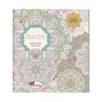 Mandale. Carte de colorat pentru adulti ( Editura: Aramis, ISBN 978-606-706-401-8 )