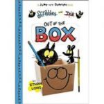 Scribbles and Ink, Out of the Box (Jump-Into-Chapters) ( Editura: Outlet - carte limba engleza, Autor: Ethan Long (Author, Illustrator) ISBN 978-160905366-6 )