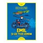 Emil si cei trei gemeni ( Editura: Arthur, Autor: Erich Kastner ISBN 9786067884197 )