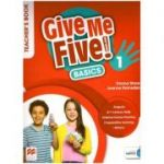 Give Me Five! 1 BASICS Teacher's Book ( Editura: Macmillan Education, Autori: Donna Shaw, Joanne Ramsden ISBN 978-1-380-02487-9 )