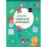Jocuri logice si de antrenament 10+ ( Editura: Paralela 45, Autor: Ballon Media ISBN 978-973-47-2937-1 )