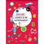 Jocuri logice si de antrenament 8+ ( Editura: Paralela 45, Autor: Ballon Media ISBN 9789734729357 )