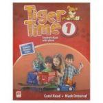Tiger Time 1 Student 's Book with eBook ( Editura: Macmillan, Autor: Carol Read, Mark Ormerod ISBN 9781786329639 )