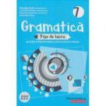 Gramatica fise de lucru pe lectii si unitati clasa a 7 a 2020(Editura: Paralela 45, Autor: Eliza-Mara Trofin ISBN 9789734732494 )