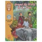 Primary Readers - Around the World in 80 Days level 6 with CD ( Editura: MM Publications, Autor: H. Q. Mitchell, Marileni Malkogianni, ISBN 978-618-05-2521-2)