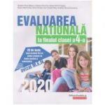 Evaluarea Nationala 2020 la finalul clasei a IV-a ( Editura: Paralela 45, Autori: Mirabela-Elena Baleanu, Andreea-Elena Ene, Adrian-Petrica Grigore ISBN 978-973-47-3058-2)