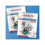 Geografie - Manual pentru clasa a IV-a (semestrul I + semestrul al II-lea) Contine CD ( Editura: Intuitext, Autori: Manuela Popescu, Stefan Pacearca ISBN 978-606-8681-69-6)