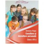 Consiliere si dezvoltare personala, clasa a VII-a ( Editura: Express Publishing, Autor: Simona Pop ISBN 978-606-94378-1-0)