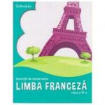 Limba franceza, exercitii de conversatie, clasa a VI-a, FR060 (Editura: Booklet, Autor: Georgeta Loredana Burda ISBN 9786065906631)