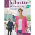 Schritte international Kurs-und Arbeitsbuch Neu Nr. 5 B1. 1 Zum CD ( Editura: Hueber, Autori: Silke Hilpert, Marion Kerner, Jutta Orth-Chambah ISBN 978-3-19-301086-5)