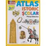 Atlas istoric scolar (Editura: CD Press, ISBN 978-606-528-356-5)