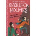 Sherlock Holmes Un caz Rosu Aprins (Editura: Curtea Veche, Autor: Sir Arthur Cona Doyle ISBN 978-606-44-0477-0)