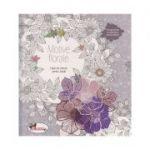 Motive florale / Carte de colorat pentru adulti(Editura: Aramis ISBN 9786067064001)
