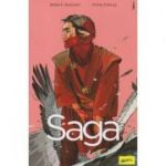 Saga Volumul Doi(Editura: Art, Autor(i): Brian K. Vaughan, Fiona Staples ISBN 978-606-710-720-3)
