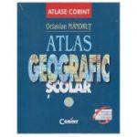 Atlas geografic scolar ( Editura: Corint, Autor: Octavian Mandrut ISBN 978-606-93580-1-6)