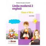 Limba moderna 2 engleza clasa a VIII-a ( Editura: Express Publishing, Autor: Jenny Dooley ISBN 9781471591174 )