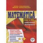 Matematica clasa a XII-a: Algebra superioara, Analiza matematica (Editura: ICAR, Autor: Catalin Petru Nicolescu, Madalina -Georgiana Nicolescu ISBN 978-973-606-134-9 )