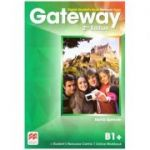 Gateway 2nd Edition, Digital Student's Book Premium Pack, B1+ ( Editura: Macmillan, Autor: David Spencer ISBN 978-0-230-49851-8)