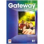 Gateway Student's Book Pack, 2nd Edition, B1 ( Editura: Macmillan, Autor: David Spencer ISBN 978-0-230-47312-6)