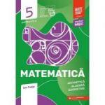 Matematica. Aritmetica, algebra, geometrie. Caiet de lucru. Clasa a V-a. Initiere. Partea a II-a (Editura: Paralela 45, Autor: Ion Tudor ISBN 9789734733033)