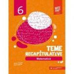 Matematica. Teme recapitulative. Clasa a VI-a (Editura: Paralela 45, Autori: Anton Negrila, Maria Negrila ISBN 9789734733156)