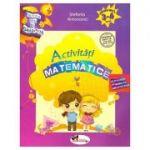 Caietul meu de gradinita. Activitati matematice, 3-4 ani (Editura: Aramis, Autor: Stefania Antonovici ISBN 9786060091417)