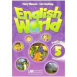 English world 5 Pupil's Book with e Book (Editura: Macmillan, Autor: Mary Bowen, Liz Hocking ISBN 9781786327093 )