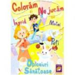 Coloram si ne jucam cu Ingrid, Matei si Pufi (volumul 1). Obiceiuri sanatoase ( Editura: Lizuka Educativ, Autor: Ioana Cristina Vladoiu ISBN 9786068714691)