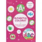 Alfabetul colorat. Auxiliar pentru invatarea scrisului de mana. (Editura: Paralela 45, ISBN 9789734734283)