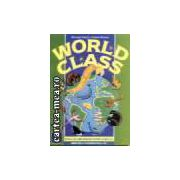 WORLD CLASS CLS. a VI a, STUDENTS'BOOK(editura Longman, autori: MICHAEL HARRIS, DAVID MOWER isbn: 0-582-31288-4)