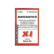 MATEMATICA - cl. a 11-a
