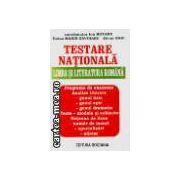 Testare Nationala - LIMBA SI LITERATURA ROMANA