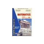 Matematica manual pentru clasa a 9-a