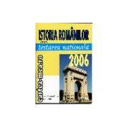 Istoria romanilor pentru testare nationala 2006