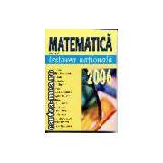 Matematica pentru testarea nationala 2006