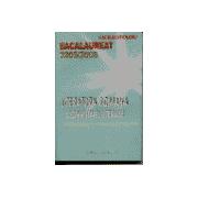 Comentarii Literare - Literatura Romana - Bacalaureat 2005/20006