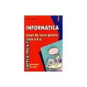 Informatica-caiet de lucru pentru clasa a V-a