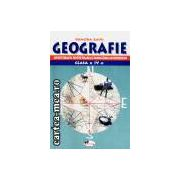Geografie cls a IV-a