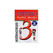 Matematica-caietul elevului  cls a III-a partea II Pacearca