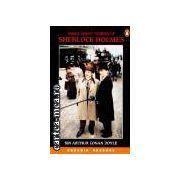 Three short stories of Sherlock Holmes(editura Longman, autor:Sir Arthur Conan Doyle isbn:0-582-85439-8)
