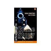 Crime story collection(editura Longman, autor:Sara Paretsky isbn:0-582-41919-0)