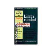 Limba romana-teste de admitere in invatamantul superior