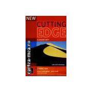 NEW CUTTING EDGE-ELEMENTARY WITH MINI DICTIONARY(editura Longman, autori: SARAH CUNNINGHAM, PETER MOOR, FRANCES EALES isbn: 0-582-82501-6)